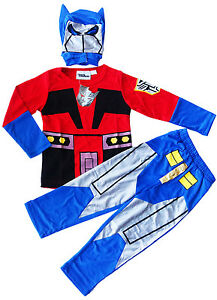 NEW-SZ-3-8-KIDS-COSTUMES-TRANSFORMERS-OPTIMUS-BOYS-MASK-DRESS-UP-PARTY-CHILDREN