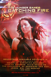 HUNGER GAMES CATCHING FIRE SOUNDTRACK POSTER (F3)   eBay