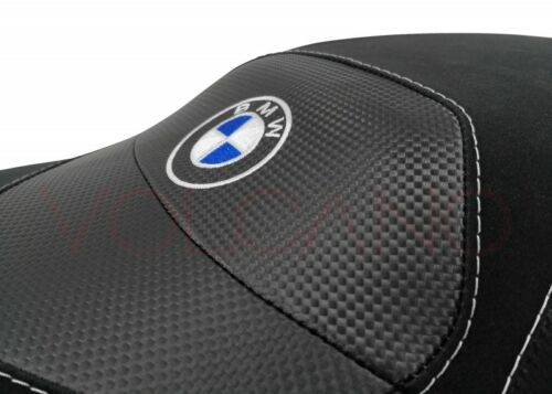 K 1300s 09-16 Volcano design Seat cover Anti Slip black Grey BMW K 1200s 04-08