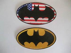 Batman Stickers Decals American Flag And Bat Signal Lot of 2