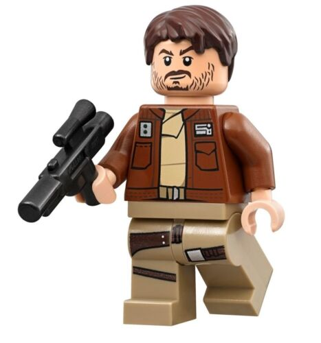 LEGO STAR WARS ROGUE ONE MINIFIGURE Cassian Andor with Blaster 75171