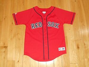 9a8494a1b Majestic DAVID ORTIZ Red Friday BOSTON RED SOX Youth Stitched MLB ...