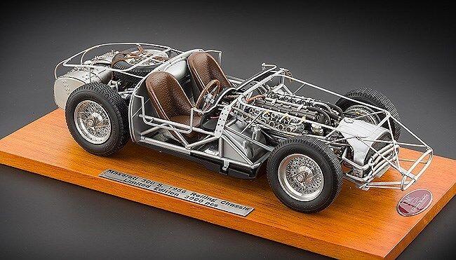 1 18 CMC 1956 Maserati 300S Rolling Chassis M-109