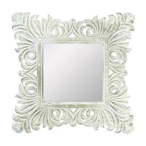 In Legno Specchio Da Parete Decorativo Decorazione Muro Specchio Da Parete Ebay