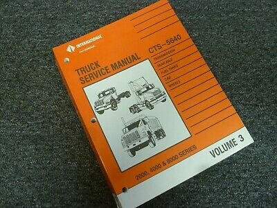 1997 International 4600 4700 4800 4900 Truck Transmission ...