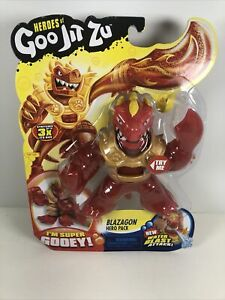 NEW-SEALED-Heroes-of-Goo-Jit-Zu-Blazagon-The-Dragon-Action-Figure
