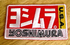 Yoshimura Japan USA Moto GP Motorrad Racing Team Tuning Auspuff Aufnäher/-bügler