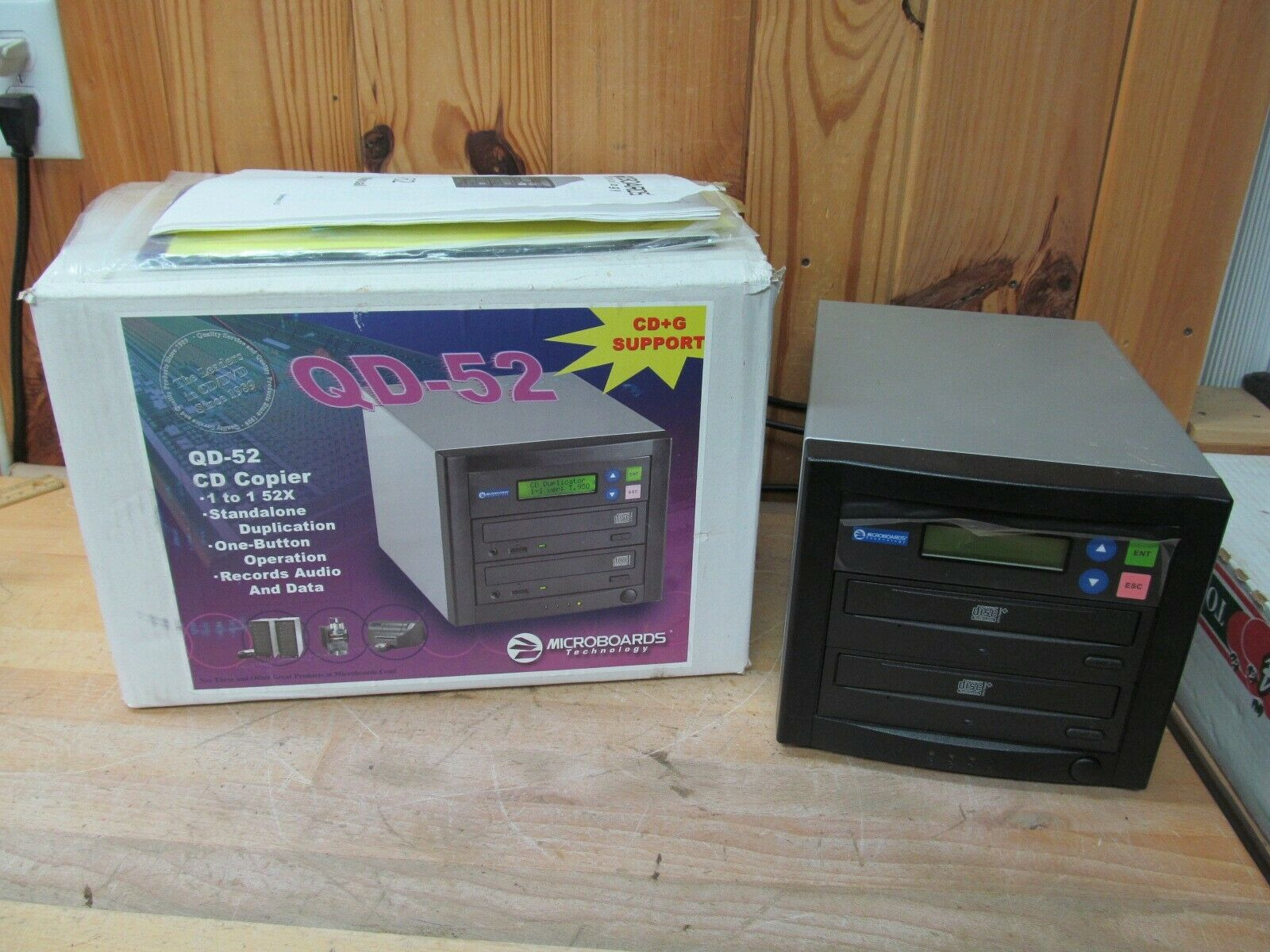 Microboards Quick Disc Qd 52 Cd R Burner For Sale Online Ebay