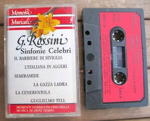 MOMENTI-MUSICALI-9-G-Rossini-Sinfonie-Celebri-MC-TAPE-More-Record-MCDV-159