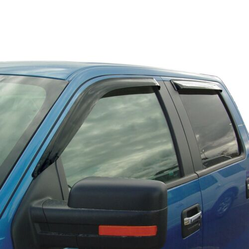 2007-2013 Chevy Avalanche Tape-On Wind Deflectors