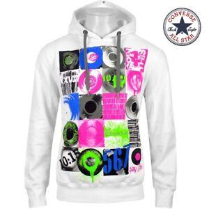 CONVERSE All Star Hoodie Herren Kapuzen Pullover Sweat Shirt