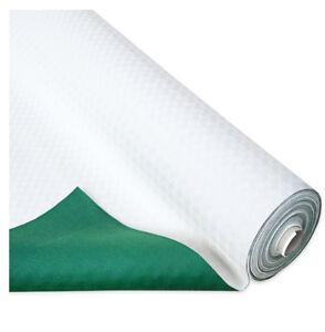 Schützen Tisch Schwanendaunen Weiß Grün Unten Tischdecke Anti-rutsch Antiflecken