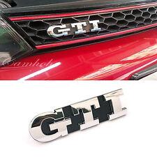 Volkswagen VW Golf 5 6 GTI  Logo Front Grille Emblem Chrome Badge Mark5 MK5 MKV