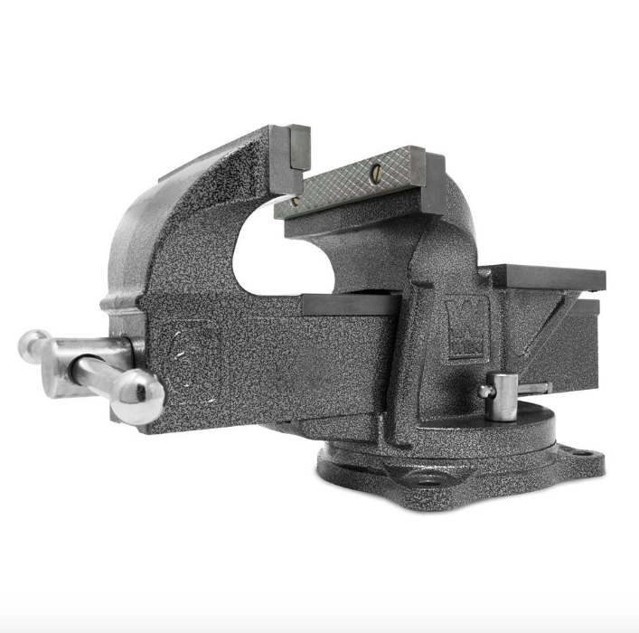 Wen 6 inch Heavy Duty Cast Iron Bench Vise Swivel Base Clamps Clamping Tool New