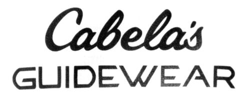 Cabela/'s Men/'s GUIDEWEAR 1//2 Zip Fishing Pullover UPF Moisture Wick Long Sleeve