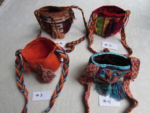 bb1ecd6e4 WAYUU Colorful MINI Mochila Purse Boho Shoulder Bag Crochet Colombia ...