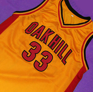 826ab31ad KEVIN DURANT OAK HILL HIGH SCHOOL JERSEY YELLOW SEWN NEW ANY SIZE