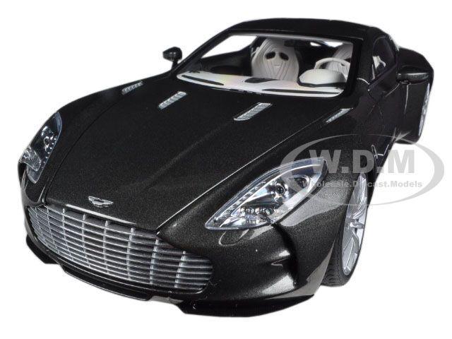Aston Martin One 77 Spirit Grey 1 18 Diecast Car Model By Autoart