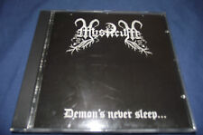 "MYSTICUM ""DEMON`S NEVER SLEEP . . .""  CULT NORWAY BLACK METAL"