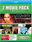 V For Vendetta / Watchmen (Blu-ray, 2013, 2-Disc Set)