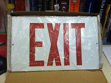 Sure Lite Exit Sign Plx 5200 Rp 17 Watts Singel Double Face Free Shippi