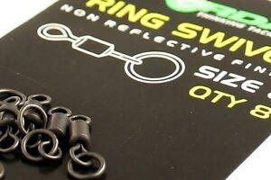 Korda Size 8 Flexi Ring Swivels
