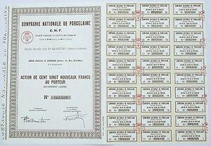 Dept-18-Vierzon-11-Rue-Karl-Marx-Rare-Action-Cie-Nationale-de-Porcelaine-CNP