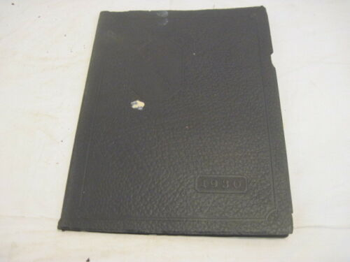OLD VINTAGE 1930 MEDINIAN HIGH SCHOOL YEAR BOOK OF MEDINA MEMORABILIA