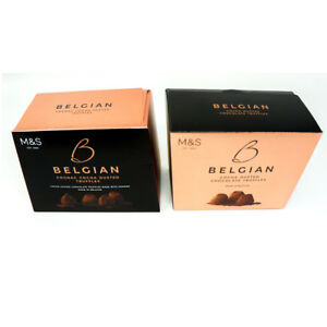 Details About Marks Spencer Belgian Cognac Cocoa Dusted Chocolate Truffles Gift Box 260g Ms