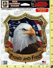 USA Eagle & 911 Honor Window Decal Sticker for Car/Truck/Motorcycle/Laptop 44059