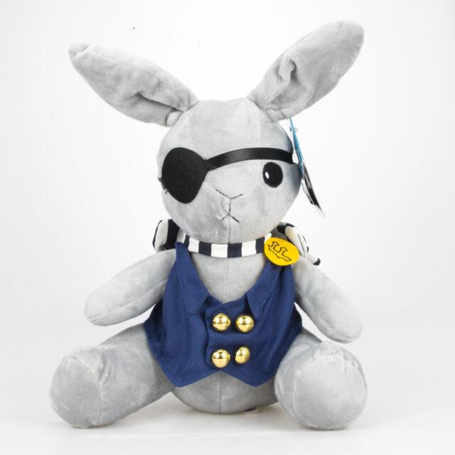 Anime Kuroshitsuji Black Butler Ciel Phantomhive Rabbit Plush Soft Doll Toy 12
