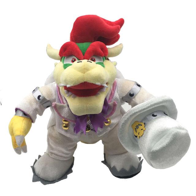 Super Mario Odyssey Bowser Koopa Wedding Form Plush Doll Stuffed Toy 14 Inch
