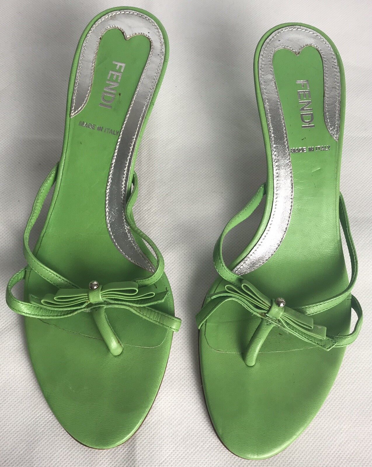FENDI Flats Sandals Good Condition