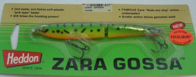 "Heddon X9269NPB 5/"" Zara Gossa 3//8 Oz Chrome Blue Back"