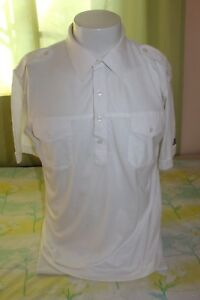hommes grand Vintage Richard Tori blanc polo 4 avant taille boutons pull ww7CfqE