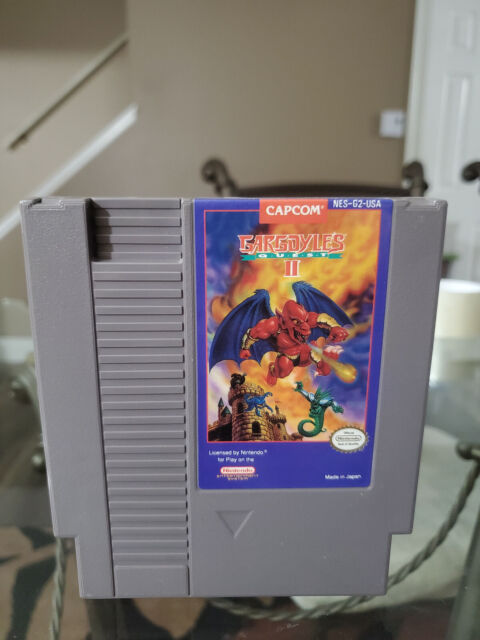 Gargoyle's Quest II: The Demon Darkness Nintendo NES Video Game Pak Cartridge