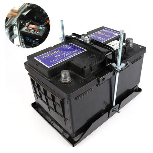 Auto Batteriehalterung Batteriefach Batterie Halter Halterung Lagerung Universal