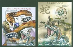 Guinea-Bissau-2012-Schlangen-Year-of-the-snake-Zodiac-Astrologie-China