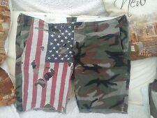 Ralph Lauren Denim & Supply Shorts in Size 42 in. - Camouflage & Stars & Stripes