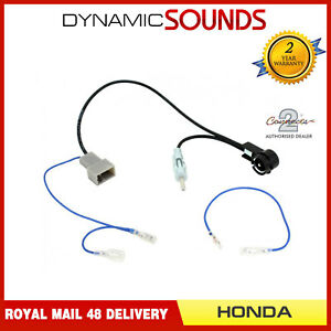 CT27AA174-GT13-to-DIN-amp-ISO-Antenna-Adapter-for-Honda-FR-V-2007-On