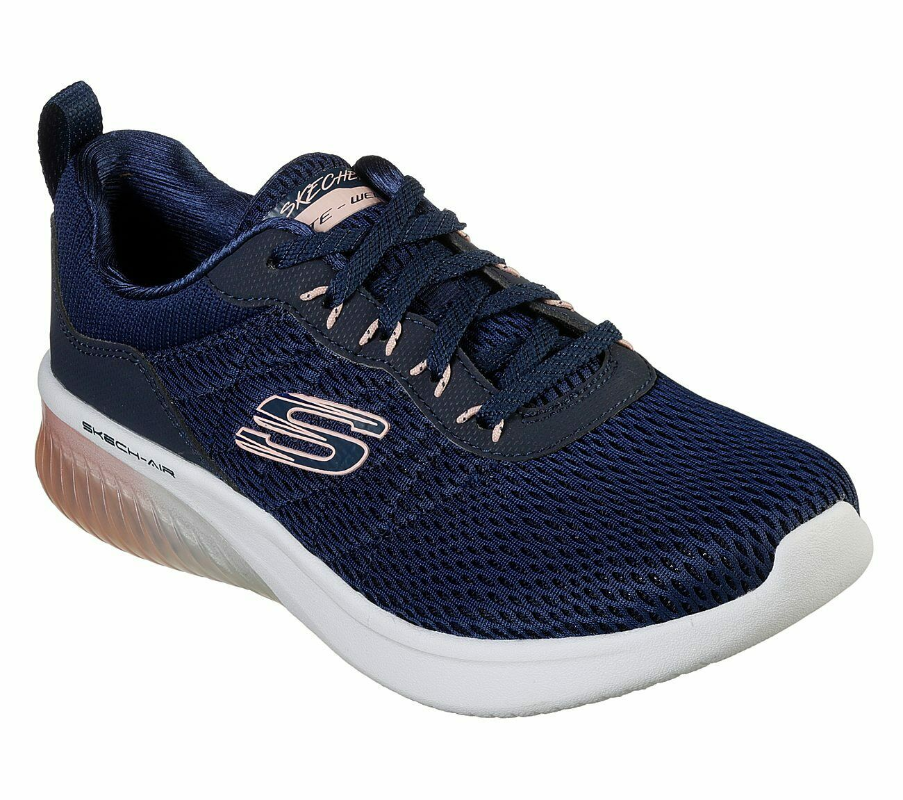 Skechers Skech-Air Ultra Flex Entrenadores Zapatos Para Mujer Malla Malla Malla Deportivo Acolchado 13290 bc987f