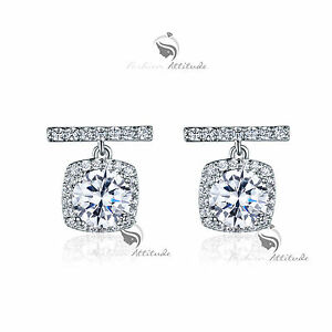 18k-gold-gp-made-with-SWAROVSKI-crystal-T-bar-stud-earrings-925-silver-1ct