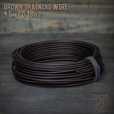 American Bonsai Brown Aluminum Training Wire - 4.5mm - 1 kilogram - 85ft - 1k