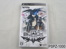 Black Rock Shooter Japanese Import PSP Portable Japan JP US Seller A/VeryGood
