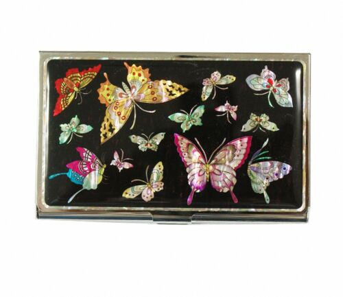 Mother of pearl Business credit card holder ID name card case #2084