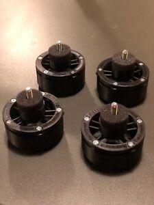Turntables and cdjs antivibration feet x4 - Piedini giradischi isolanti