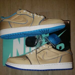 seda ir de compras boleto  Nike SB Jordan 1 Low Qs Lance Mountain Desert Ore/Royal Blue size 9.5 | eBay
