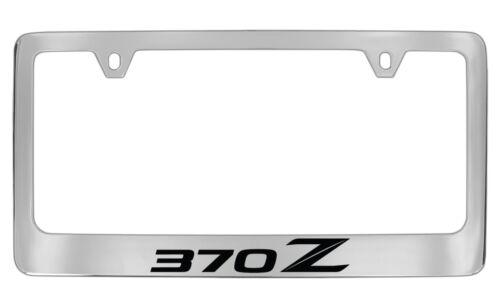 Nissan 370 Z Chrome Plated Metal For License Plate Frame Tag Holder
