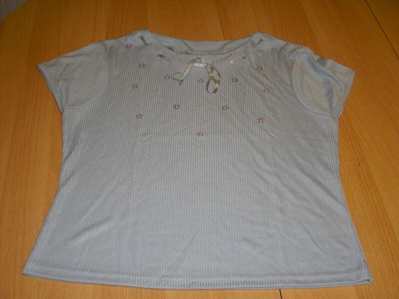 T-shirt, Damenshirt, Gr. 36, Blau
