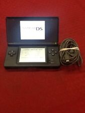 Nintendo Dos Lite Handheld Video Game Console System Black
